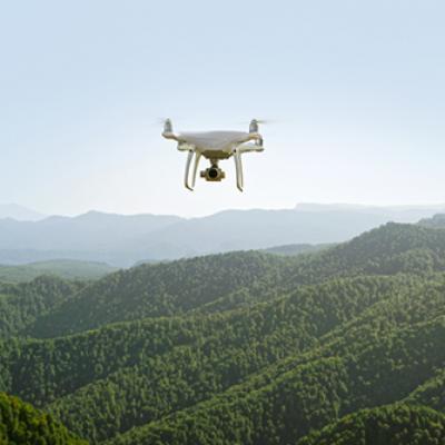 Relevés topographiques par drone à Caen, Rouen