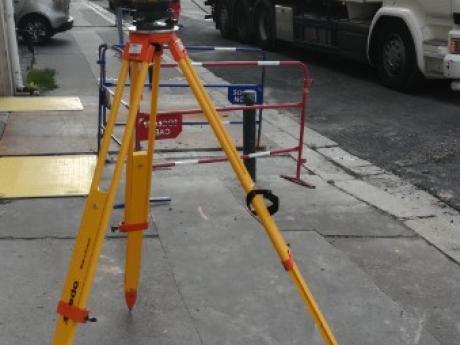 Plan de recolement de réseaux après travaux dans le centre ville de Caen