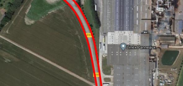 Relevés topographiques pour les départements de la Seine-Maritime et du Calvados